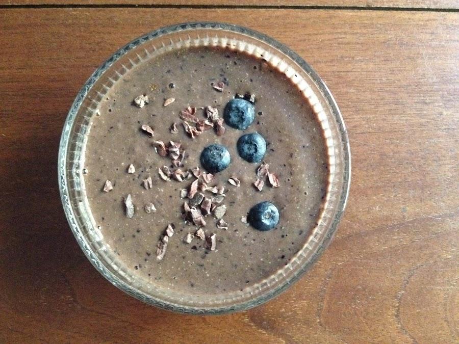 Batido vegano de Chía y Cacao