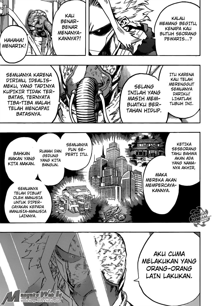 Boku no Hero Academia Chapter 116-8