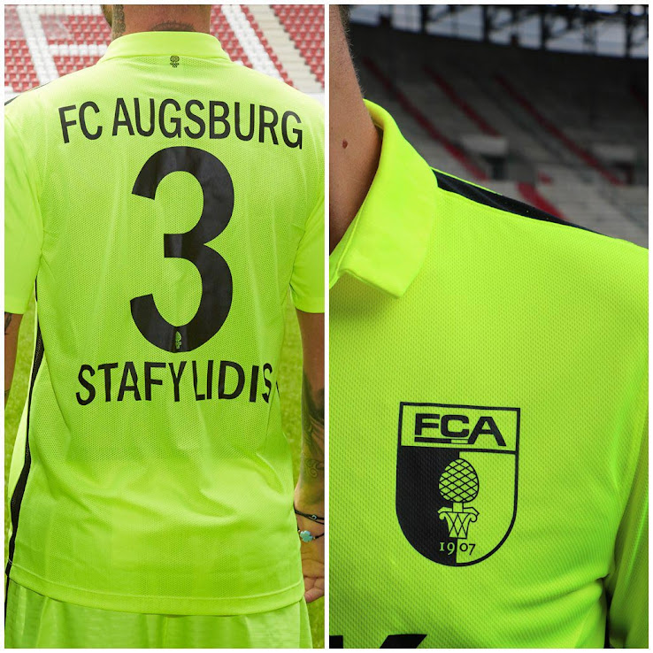 a30d29316 Augsburg 16-17 Kits Released - Footy Headlines