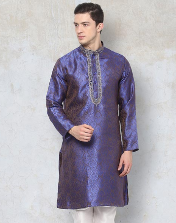 Yepme Hal Ethnic Kurta - Blue_ INR 599 .