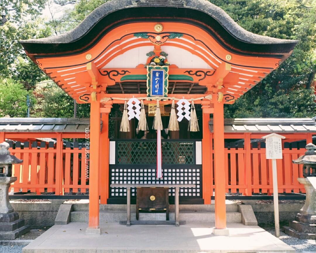 kuil terbesar di kyoto