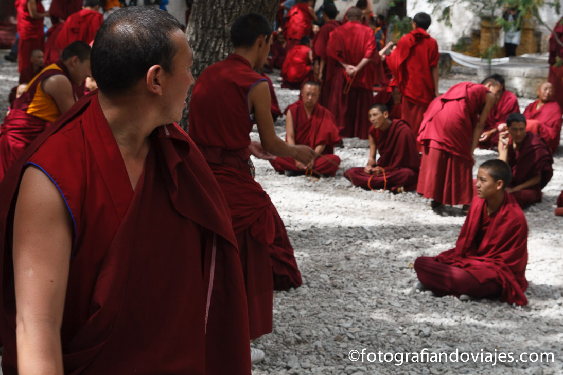 Monasterio de Sera Tibet