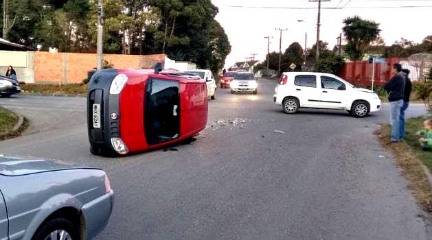 Acidente na Rua São José com a Francisco de Paula Pereira