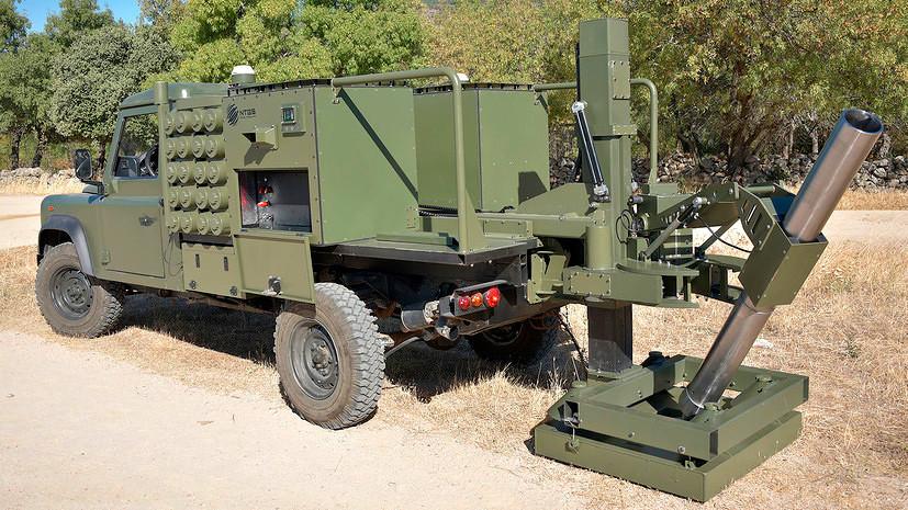 120-мм самохідний міномет Alakran