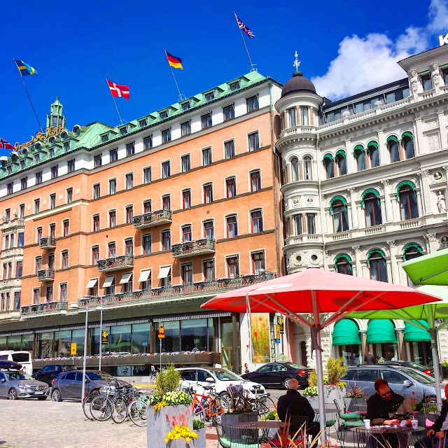 Grand Hotel Strömkajen Stockholm  |  Strolling in the sunshine, finally on afeathery*nest  |  http://afeatherynest.com