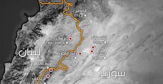 انطلاق معركة تطهير الحدود اللبنانية السورية من قبل حزب الله و الجيش السوري لسحق عصابات النصرة و داعش الوهابية