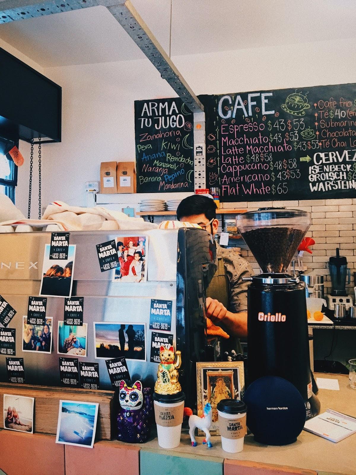 Cafes cafe para trabajar estudiar en buenos aires foto de santa maria