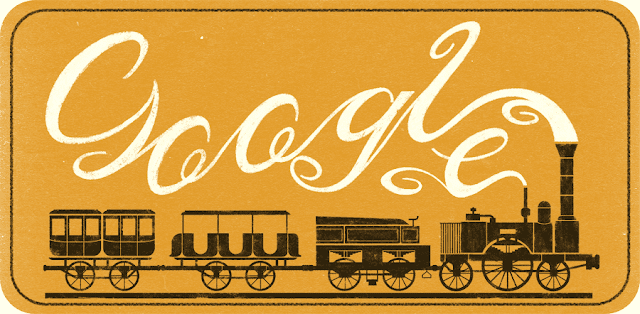181st Anniversary of the Adler's First Run: Google Doodle