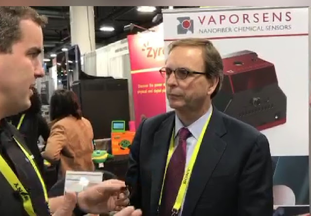 Vaporsens at CES