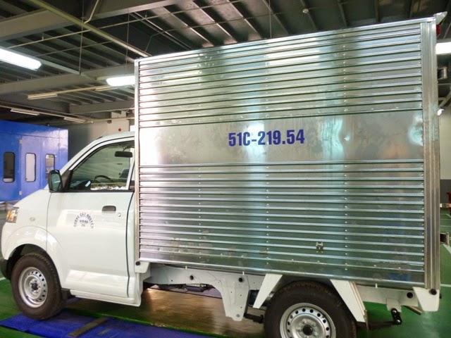 bán xe tải suzuki thùng kín 1