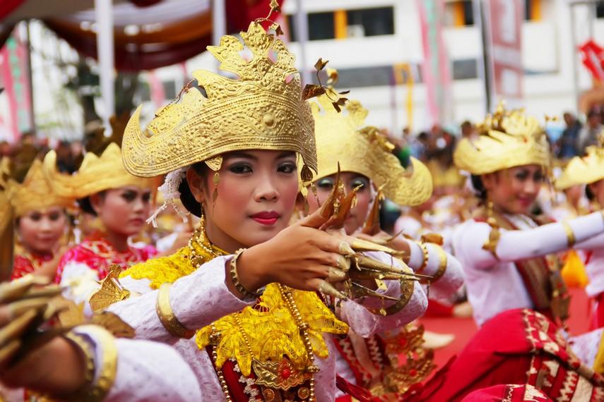 Tari Sigeh Pengunten, Tarian Tradisional Dari Lampung