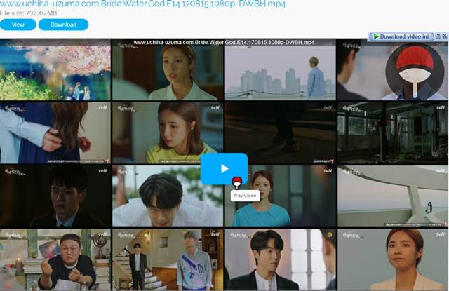Screenshots Download Film Drama Korea Gratis Bride Of The Water God, The Bride of Habaek, 하백의 신부 (2017) Episode 14 DWBH NEXT MP4 Free