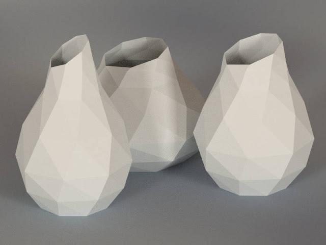 White Printing Vase White Printing Vase il fullxfull