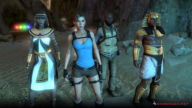 Lara Croft and the Temple of Osiris Gameplay Screenshot 1