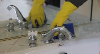 طريقة تنظيف صنابير المياة