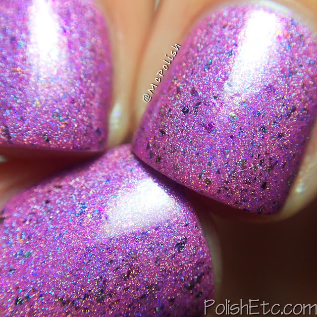 Glam Polish - Think Pink Trio - McPolish - It's A Secret macro