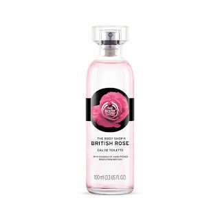 colonia rosas The Body Shop