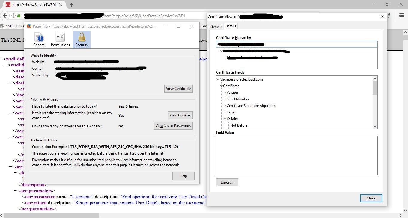 Abhishek Sahu Blog How To Import Ssl Certificate In Jdeveloper Keystore