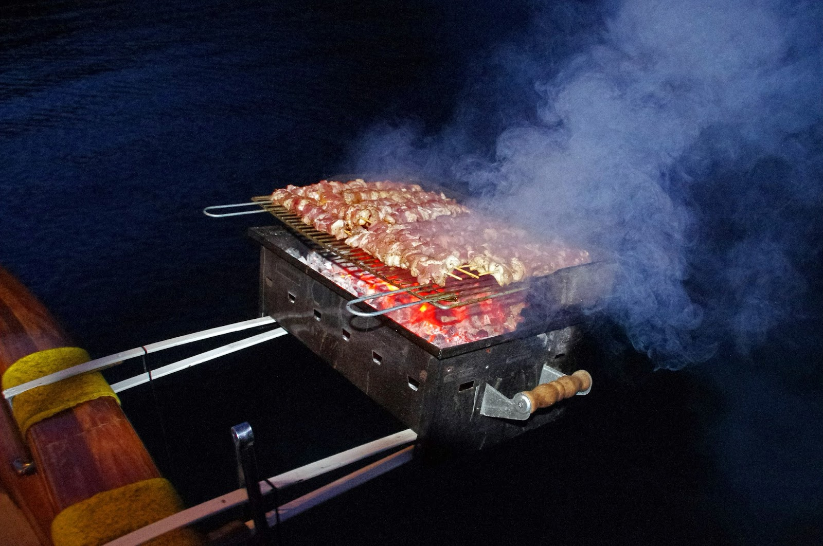 BBQ Dinner on Neyzen Yachting Trip