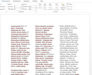 Cara Membuat Layout 3 Kolom di Microsoft Word Khusus Pemula, Anda Perlu Coba!