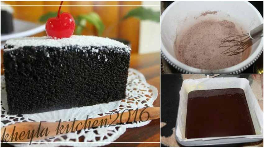 Resep Eggless Cake Coklat Super Moist