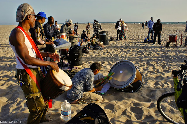 A Year at the Venice Beach Drum Circle in Photos & Videos (2014-'15) by Omar Cherif, One Lucky Soul