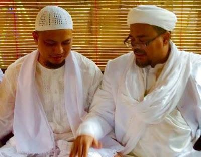 Bela Habib Rizieq Syihab, KH M Arifin Ilham Pasang Badan