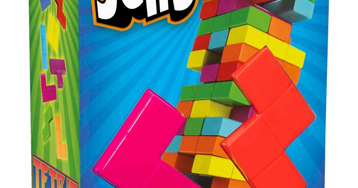 Susans Disney Family Hasbro Jenga Tetris A Color Fun Family Game