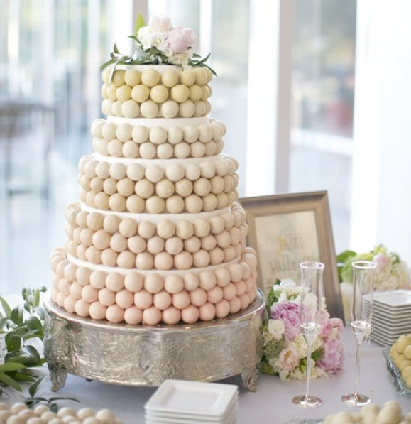 I Love This Idea As An Alternative To A Standard Wedding Cake It S Still Traditional But With Modern Twist