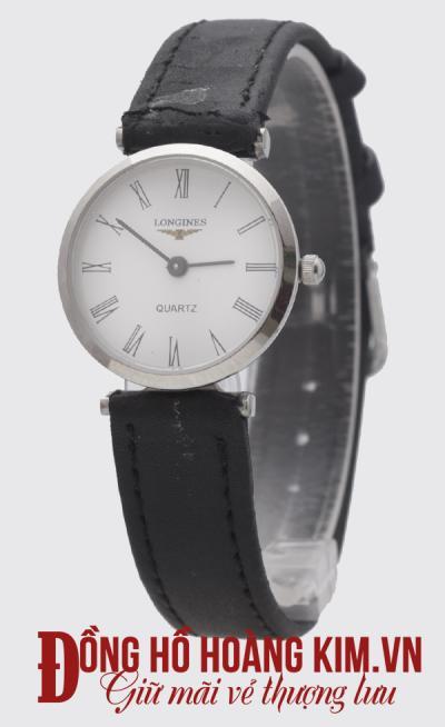 bán đồng hồ dây da nữ đẹp