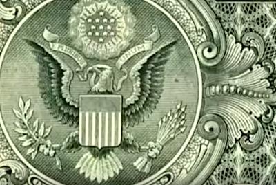 орел на долларе