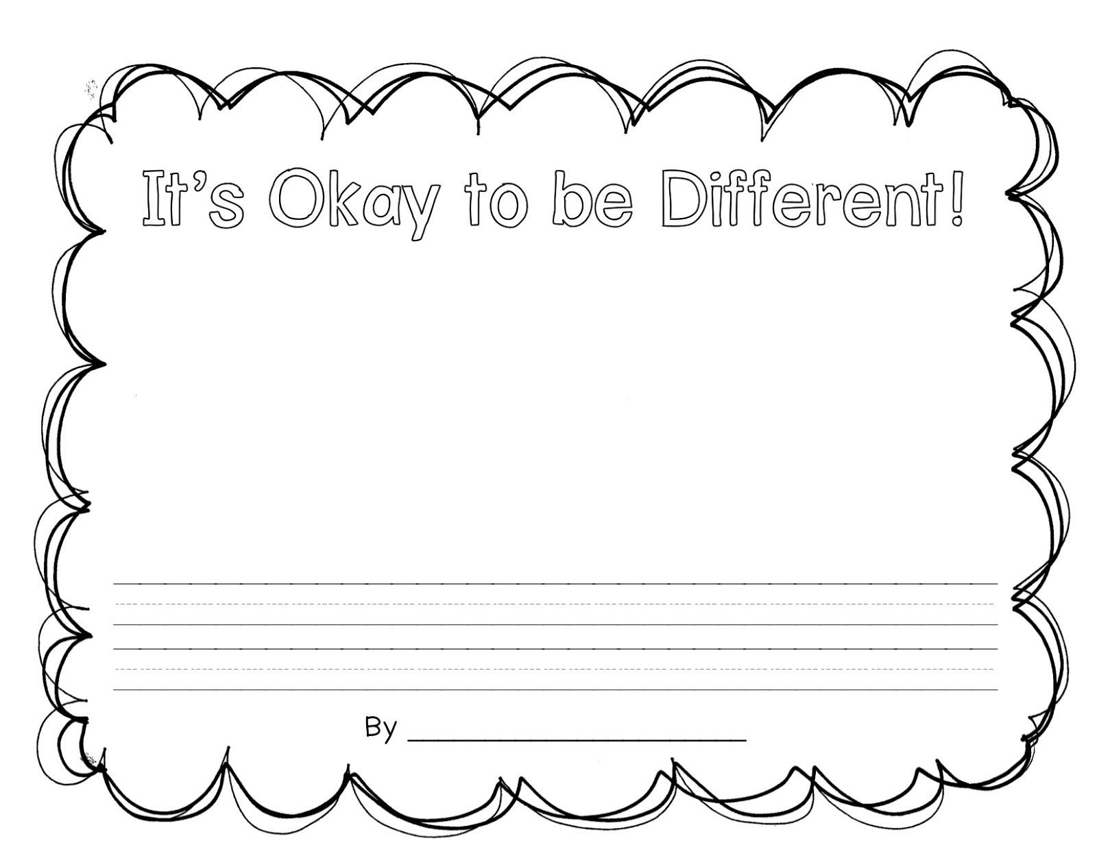 It S Okay To Be Different