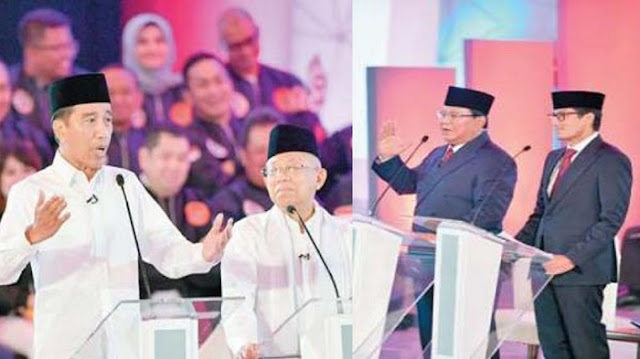 Debat Perdana Capres 2019: Jokowi akan Pertaruhkan Reputasi, Prabowo Bertekad Atasi Kebocoran