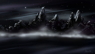 http://ancabadut.cgsociety.org/art/black-photoshop-mountains-dark-ambient-water-sky-night-nature-2d-1262588