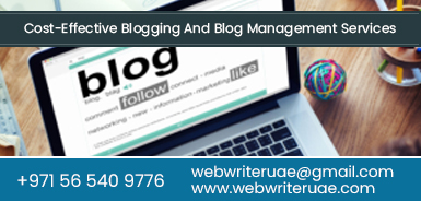 blog management services dubai