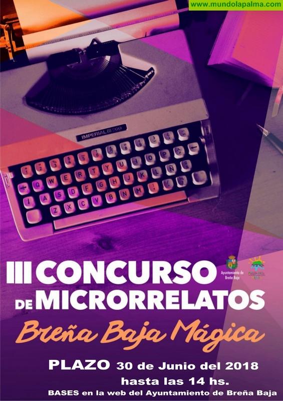 "BREÑA BAJA: III Concurso de Microrrelatos ""Breña Baja Mágica"""