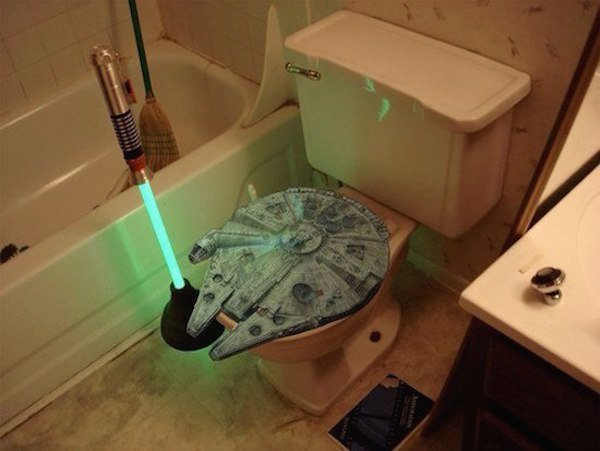 WC, star wars