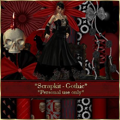 Gerdas scrap 39 s gothik - Gothic adventskalender ...