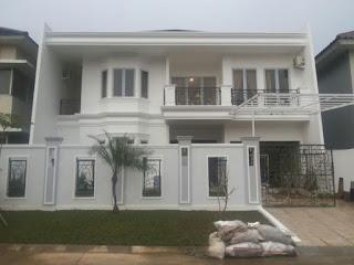 Rp.5.3 Milyar Dijual Rumah Baru Semi Furnis Type Minimalis Klasik Depan Taman View Gunung Di Sentul City ( CODE 257 )