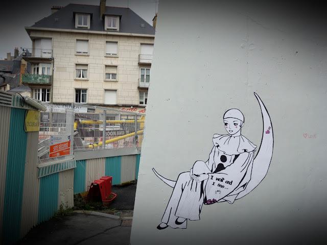 Et un inhabituel et incongru Pierrot Lune... Le 16 septembre...