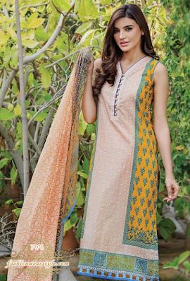 Luxurious Alkarm Printed Spring Lawn Dresses 2016 www.fashionwearstyle.com