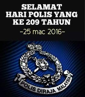 selamat hari polis