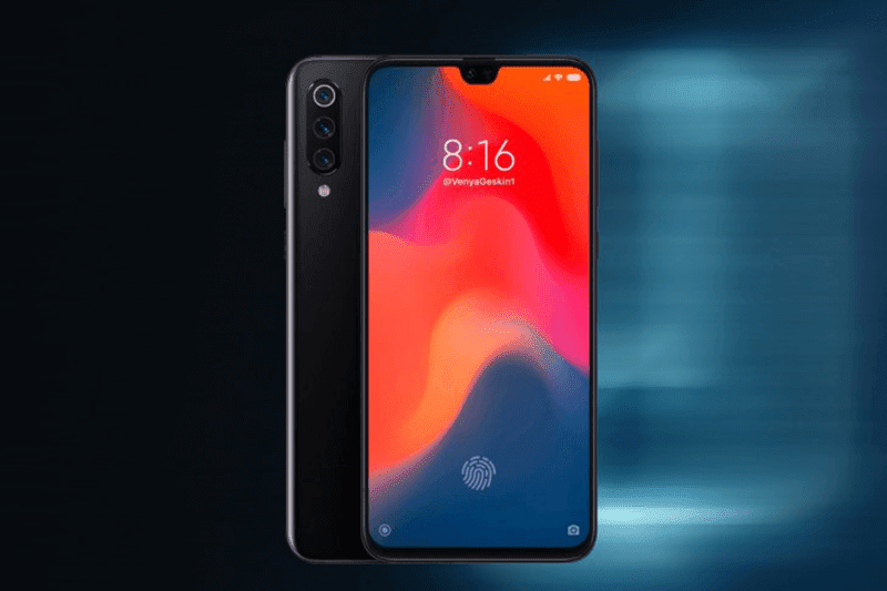 This is a fan render of the Xiaomi Mi 9