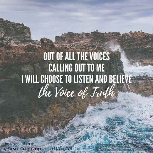 Bible Verses for Voice Of Truth by Steven Curtis Chapman and Mark Hall | scriptureand.blogspot.com