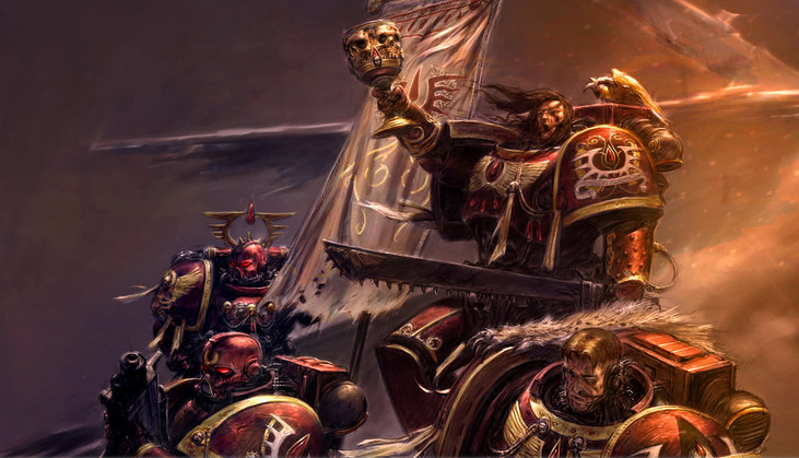 Grot orderly blood angels news for Portent warhammer