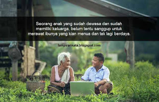 Kata-kata Bijak Rindu Ayah dan Ibu