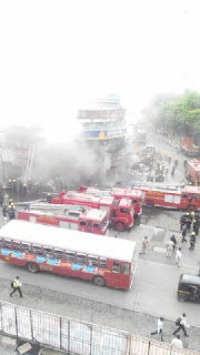 fire in malad