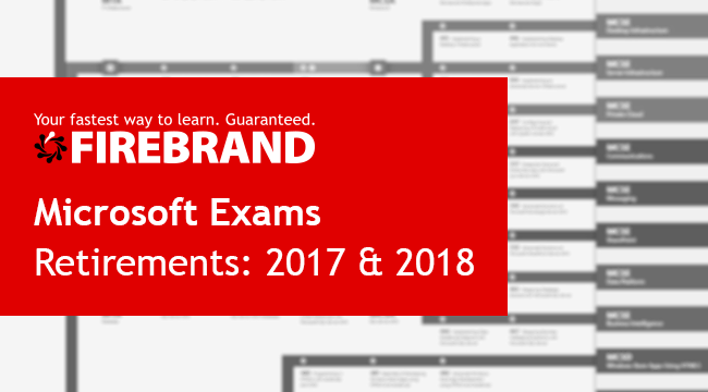 Certification News: More Microsoft Exam Retirements in 2017 and 2018