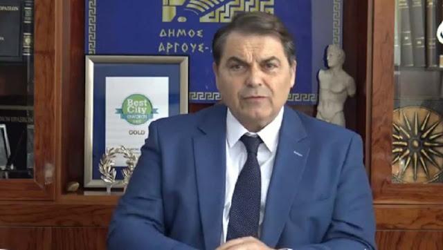 Ο Καμπόσος αποχώρησε από εκδηλωση στο Άργος λόγω της παρουσίας του Γ. Γκιόλα