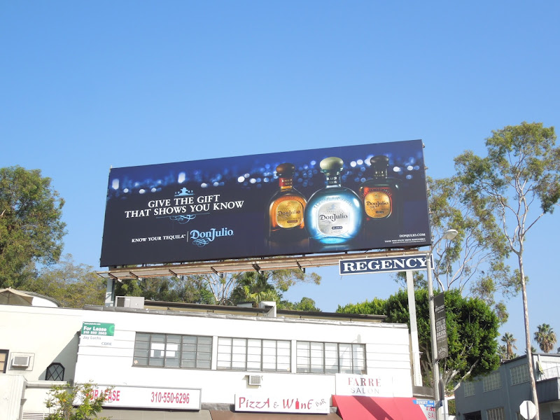 Don Julio Tequila gift billboard